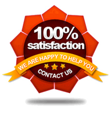 100% Customer Satisfaction Guaranteed! - Contact Us for more info!